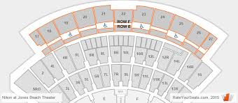 Nikon Theater Seating Chart 3d Jones Beach Theater Seating Chart Interactive Map