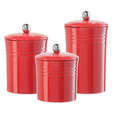 Red Apple Kitchen Decor Glass Kitchen Canisters Cliff Kitchen