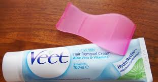 how to use veet hair removal cream