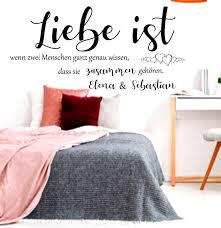 Möbel Wohnen Dekoration Wandtattoo Ruhezone Schlafzimmer Bett