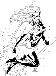 Small Picture Black Cat Marvel Coloring Pages Coloring Coloring Pages