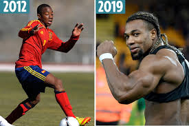 Adama Traore's incredible body transformation revealed from scrawny kid to  hulking hench Wolves winger