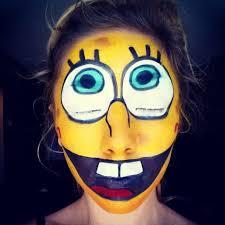 spongebob makeup tutorial