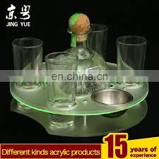 new design round pmma wine bottle display rack plexiglass wine bottle display stand acrylic wine bottle
