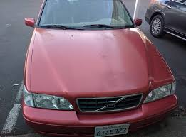 1998 S70 T5M 167 XXX Coral Red on Tan T5 SE Interior Life Long.