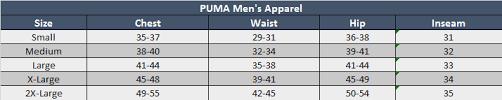 Puma Junior Size Chart Sizing Chart Soccer Village