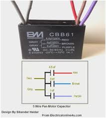 3 sd fan motor wiring diagram awesome 5 wire ceiling fan capacitor wiring diagram of 3