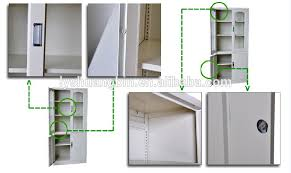 office wall cabinets with doors. knock down office glass front locking cabinet/glass storage cabinet/ wall cabinets with doors