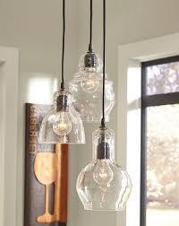 exposed lighting. 3 Glass Pendant Lights With Exposed Bulbs. Lighting I