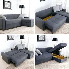 storage sectional leather sectional sleeper sofa with storage