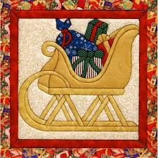 14 best Quilt Magic Kits images on Pinterest | Wall hangings ... & Sleigh Quilt Magic Kit-12