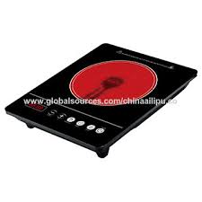 china ultra thin infrared cooker portable countertop infrared cooktop touch control