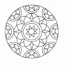Beste Mandala Kleurplaat Makkelijk Kleurplaat 2019
