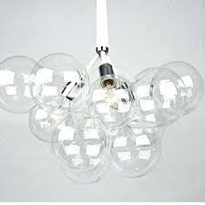 glass bubble lamps for straight cylinder clear lamp shade stargazer lights pendant light mini lighting