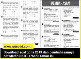 Link download contoh soal tes cpns pdf beserta kunci jawaban dan pembahasan untuk twk, tiu dan tkp! Contoh Soal Hots Cpns 2019 Pdf