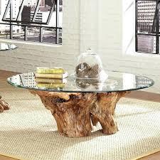 tree trunk coffee table tree coffee table new tree trunk coffee table reflections by tree stump