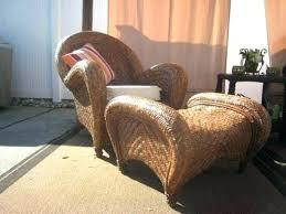 Pottery Barn Wicker Chair Rattan  Honey Swivel Furniture Review Pottery Barn Rattan Chair A40