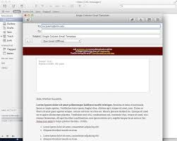 mac email templates instructions for email template