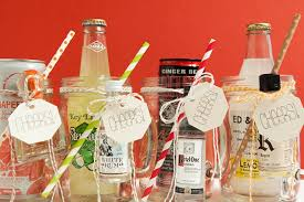 Decorating Mason Jars For Drinking Make These XL Mason Jar Cocktail Gifts 78