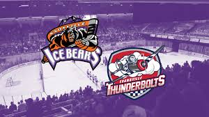Knoxville Ice Bears Vs Evansville Thunderbolts