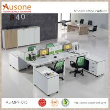 modern office cubicle. modern melamine white straight table office cubicle buy cubicle4 person workstationoffice workstation for 4 people product on alibabacom c