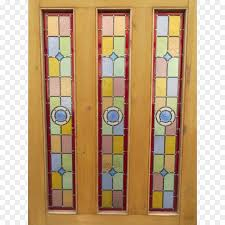 window stained glass sliding glass door watercolor stain