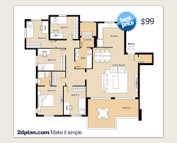 Simple House Designs and Floor Plans  how to make a floor plan    Architectural Floor Plans