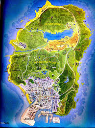 grand theft auto 5 official map imgur Map Gta 5 grand theft auto 5 official map mapgta5hiddengems