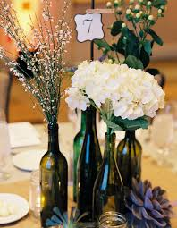 7 wine bottle centerpieces you can DIY for your wedding day! |  Centerpieces, Bottle and Wine