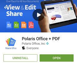 Update Information – Polaris Office