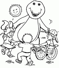 Small Picture Get This Barney and Friends Coloring Pages Free to Print 78930