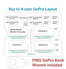 Gopro Organizational Chart Details About Yellow Pelican 1300 Case Fits 4 Gopro Hero 7 6 5 4 3 3 2 Black Ed Nameplate