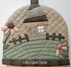 Ulla's Quilt World: Quilted Tea Cosy - Japanese patchwork ... & Ulla's Quilt World: Quilted Tea Cosy - Japanese patchwork Adamdwight.com