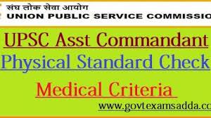 Upsc Height Weight Chart Upsc Capf Asst Commandant Physical Standard 2019 20 Ac Pet Pst