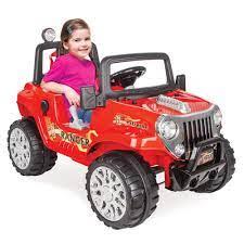 Pilsan Ranger Akülü Araba 12V Kumandalı 05 107 Kırmızı