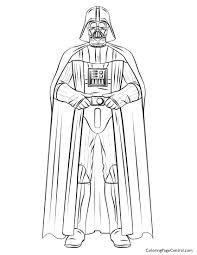 Small Picture Darth Vader Coloring Page Darth Vader Coloring Pages Archives Best