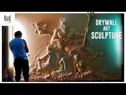 drywall art sculpture by bernie