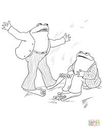 Small Picture Frog And Toad Are Friends Coloring Page With And Coloring Pages