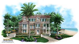 beach house floor plans. Seaside Place Home Plan - Caribbean Coastal Design, 3 Story, Garage, Lanai, Pool/Spa Beach House Floor Plans