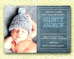 Free Baby Announcements Printable Birth Announcement