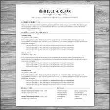 Resume Templates: Etsy Resume Template Etsy Resume ~ Dellecave