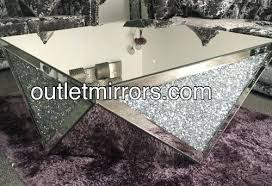 mirrored coffee tables new diamond crush sparkle crystal mirrored coffee table gold round mirror coffee table small round mirrored coffee table