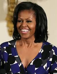 Michelle Obama, primeira – dama dos EUA. (Foto: Divulgação) - o-MICHELLE-OBAMA-570