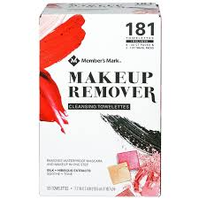member s mark makeup remover cleansing towelettes 181 ct