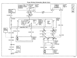 2001 monte carlo power window switc wiring diagram chevytalk 2005 monte carlo