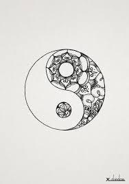 Yin Yang Tatto Nápady Na Tetování Tetování E Tetování Mandaly
