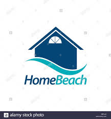 Beach House Logo Design Beach House Cut Out Stock Images Pictures Alamy