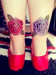 татуировки для девушек на ноге розы татуировки на женских ножках Vk