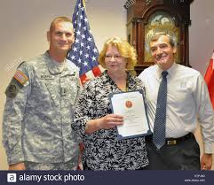 Division of Military and Naval Affairs employee Gayle Carpenter Stock Photo  - Alamy