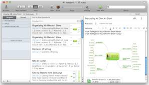Export From Conceptdraw Mindmap To Evernote The Mind Map
